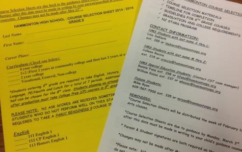 8th Grade Course Selection: In Progress!